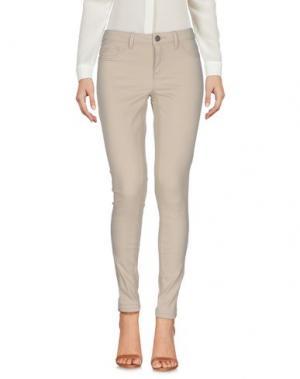 Повседневные брюки JACQUELINE de YONG. Цвет: бежевый