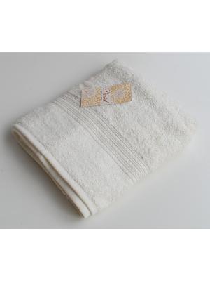 Комплект полотенец 40х70 Бордюр 3 предмета La Pastel. Цвет: молочный