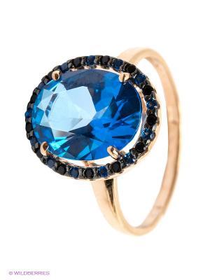 Кольцо SOKOLOV. Цвет: синий