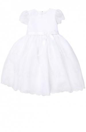 Платье Sarah Louise. Цвет: белый