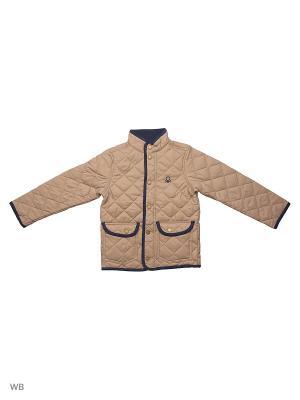 Куртка United Colors of Benetton. Цвет: коричневый