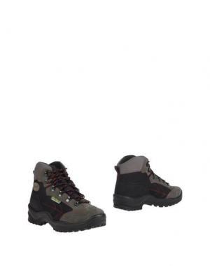 Полусапоги и высокие ботинки GRISPORT. Цвет: стальной серый