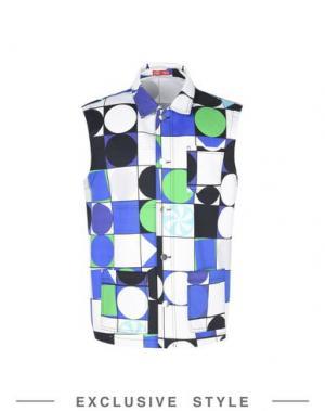 Куртка ARTHUR ARBESSER x YOOX. Цвет: ярко-синий