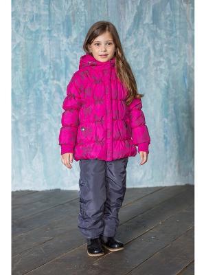 Куртка Sweet Berry. Цвет: фуксия