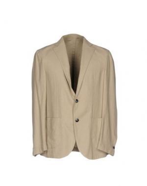 Пиджак BARBA Napoli. Цвет: песочный