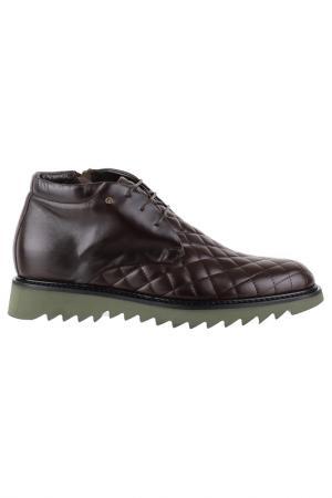 Ботинки на молнии и шнурках Gianfranco Butteri. Цвет: коричневый