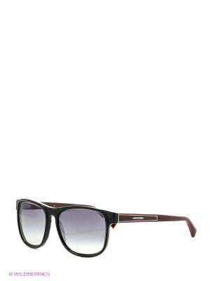 Солнцезащитные очки BLD 1624 101 Baldinini. Цвет: черный, серебристый, малиновый