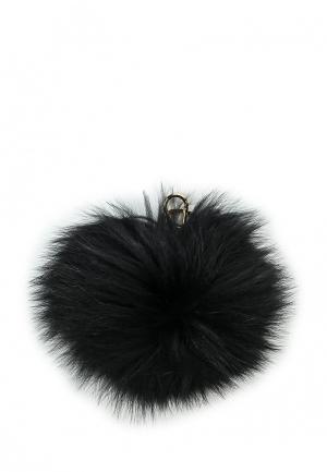 Брелок Furla. Цвет: черный