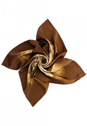 Платок VALENTINO. Цвет: коричневый