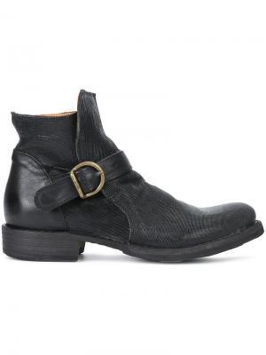 Ботинки по щиколотку Fiorentini +  Baker. Цвет: чёрный