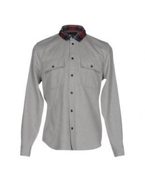 Джинсовая рубашка MARC BY JACOBS. Цвет: серый