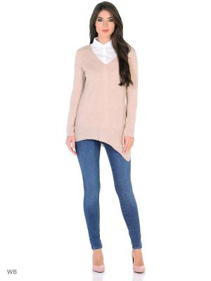 Пуловер Oltre. Цвет: розовый