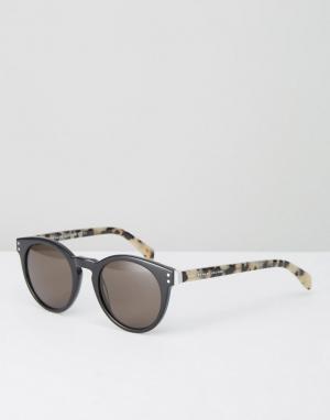 Marc Jacobs Круглые солнцезащитные очки By. Цвет: черный
