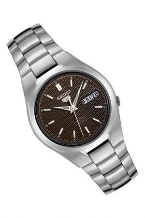 Часы Seiko. Цвет: серебряный