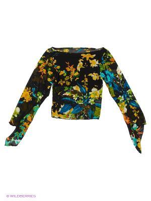 Блузка Танцевальный Мир. Цвет: желтый