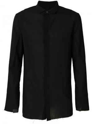 Рубашка с отделкой Masnada. Цвет: чёрный