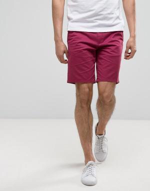 Burton Menswear Шорты чиносы слим. Цвет: розовый