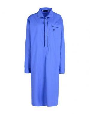 Ночная рубашка AMBASSADOR. Цвет: синий