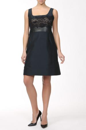 Платье Valentino. Цвет: синий