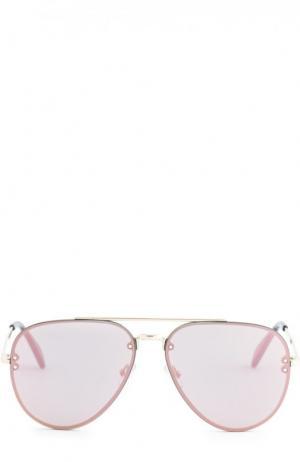 Солнцезащитные очки Céline Eyewear. Цвет: светло-розовый