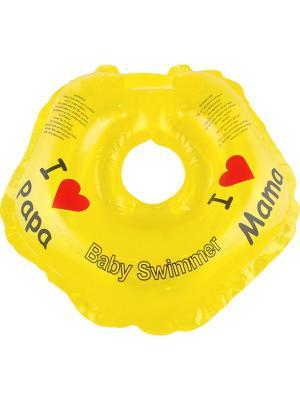 Круг желтый Baby Swimmer. Цвет: желтый