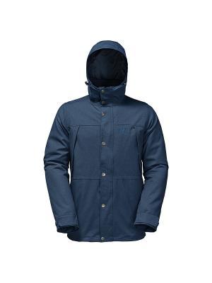 Куртка HARBOUR BAY Jack Wolfskin. Цвет: синий