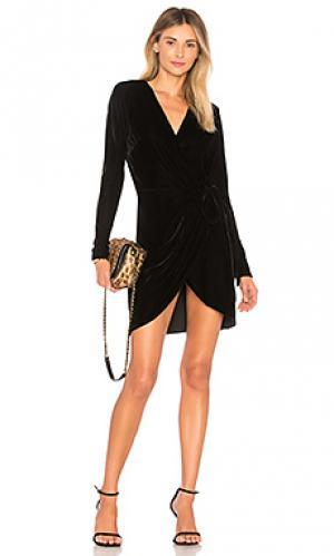 Мини платье lola NBD. Цвет: черный