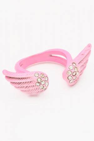 Кольцо NICE GIRL. Цвет: розовый