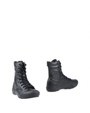 Полусапоги и высокие ботинки CONVERSE ALL STAR. Цвет: черный