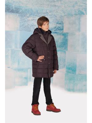 Куртка MES AMI. Цвет: серо-коричневый