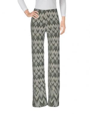 Повседневные брюки CHARLOTT. Цвет: темно-зеленый