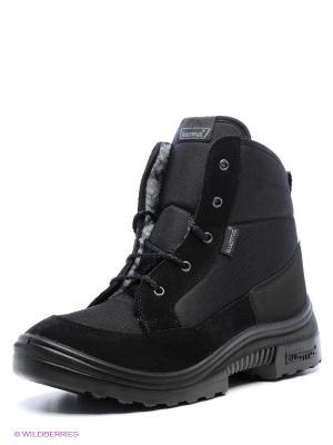 Ботинки KUOMA. Цвет: черный