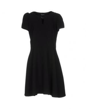 Короткое платье SINÉQUANONE. Цвет: черный