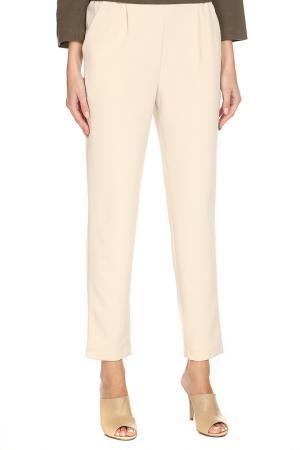 Прямые брюки с карманами Cyrille Gassiline. Цвет: слоновая кость