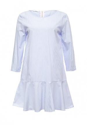 Платье Aurora Firenze. Цвет: голубой