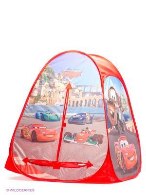 Детская игровая палатка Играем Вместе Disney Cars 2. Цвет: красный