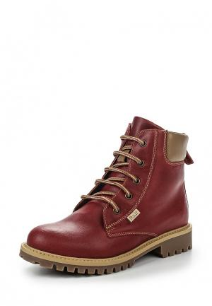 Ботинки Ralf Ringer. Цвет: красный
