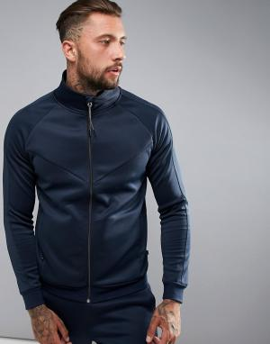 Dissident Спортивная куртка на молнии. Цвет: темно-синий
