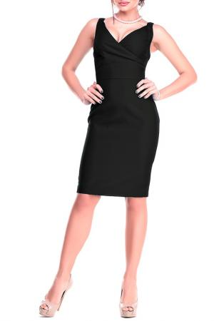 Платье-сарафан Dioni. Цвет: черный