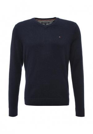 Пуловер Tommy Hilfiger. Цвет: синий