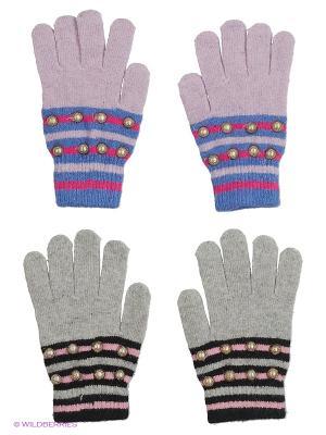 Перчатки FOMAS. Цвет: серый, сиреневый, черный, синий