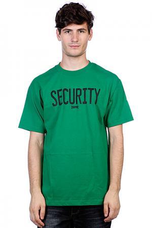 Футболка  Security Kelly Green Creature. Цвет: зеленый