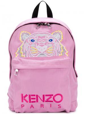 Рюкзак Tiger Kenzo. Цвет: розовый и фиолетовый
