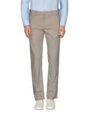 Повседневные брюки POMANDÈRE. Цвет: бежевый