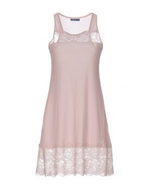 Короткое платье ALMERIA. Цвет: розовый