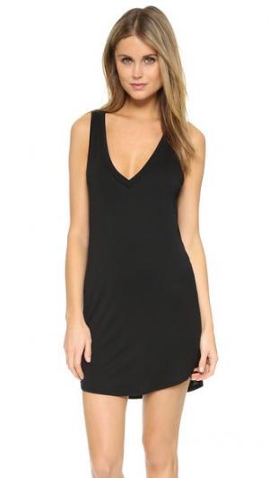 Платье без рукавов Suzanne с V-образным вырезом Riller & Fount. Цвет: серый