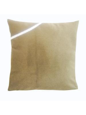 Декоративная подушка Коричневая земля LACCOM. Цвет: коричневый