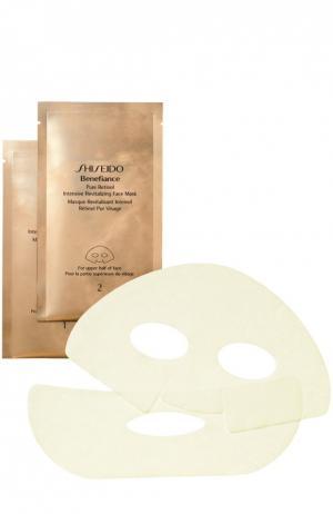 Восстанавливающая маска с чистым ретинолом Benefiance Shiseido. Цвет: бесцветный
