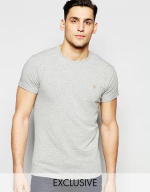 Farah Эластичная футболка эксклюзивно для. Цвет: синий