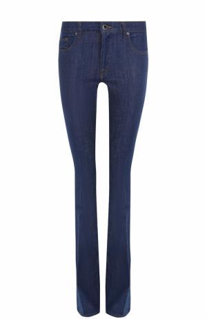 Однотонные расклешенные джинсы Victoria, Victoria Beckham. Цвет: синий